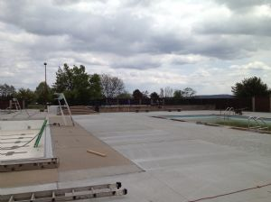 New Pool Deck