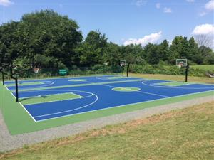 Simsbury Farms Basketball Courts